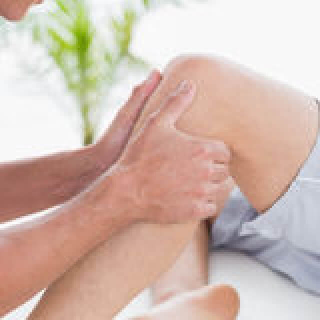 массаж коленного сустава в домашних условиях