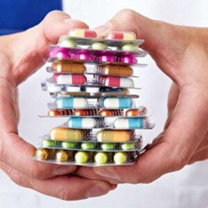на фото различные мед препараты для лечения коленных суставов