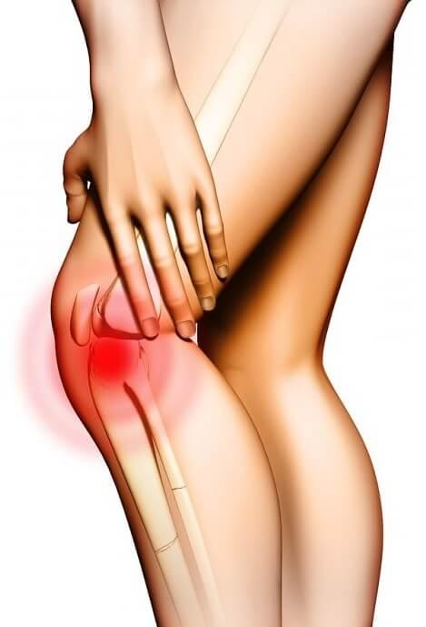 пример больного колена