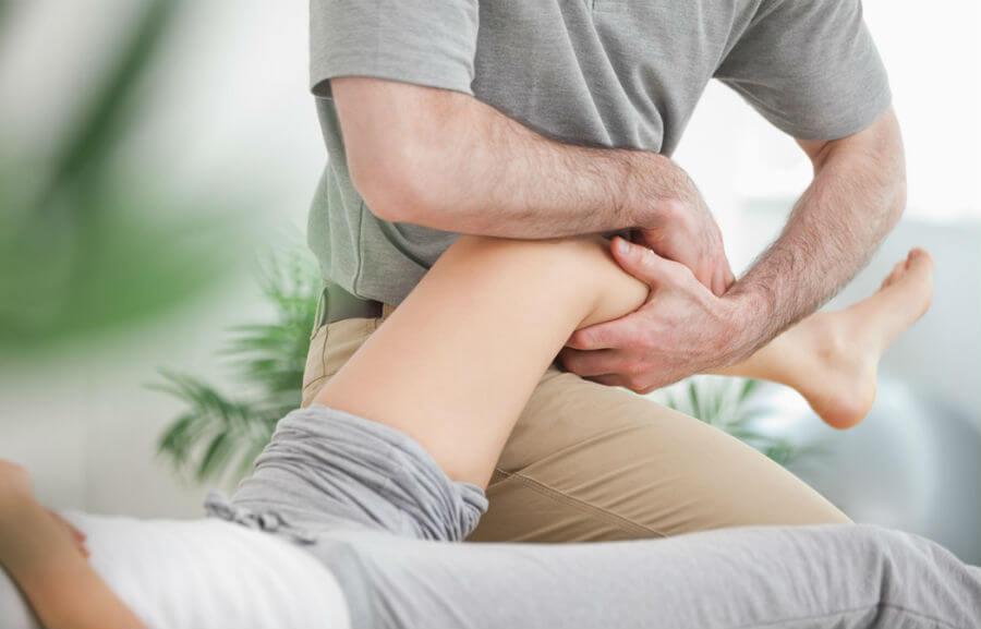 восстановление колена массажем после перелома