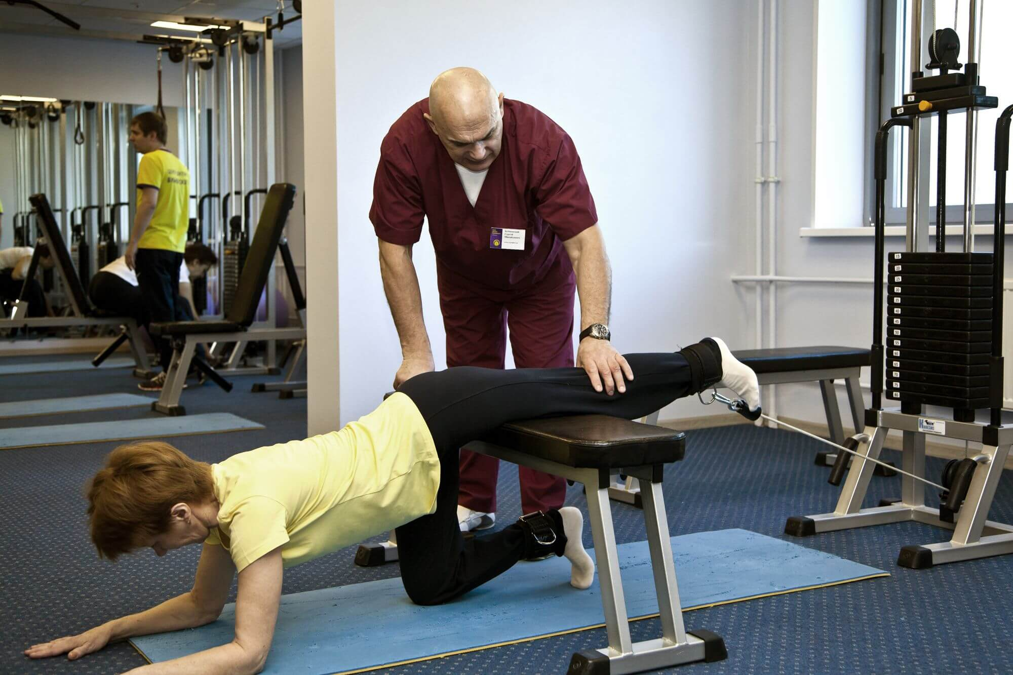 упражнения при остеопарозе коленных суставов