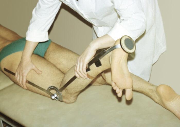 проведение диагностики при анкилозе сустава