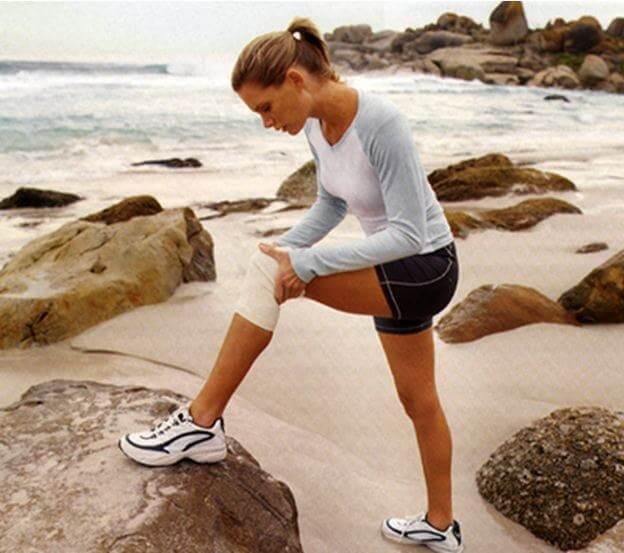 повреждение колена при беге