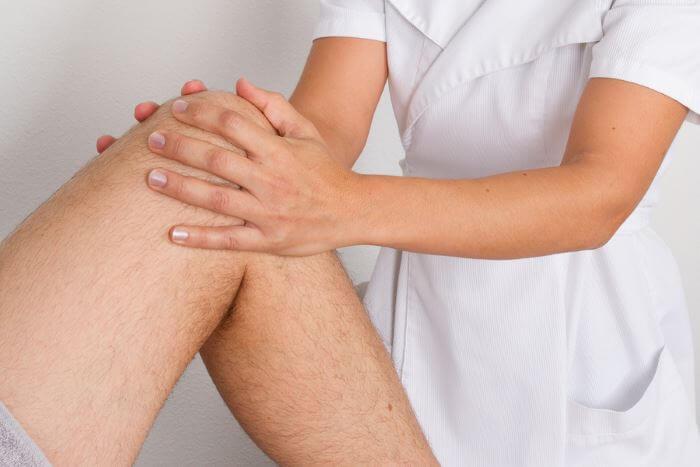 массаж колена при остеосклерозе