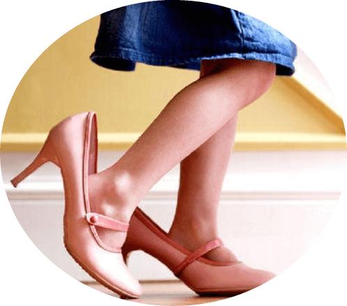неудобная обувь содействует развитию деформации стоп