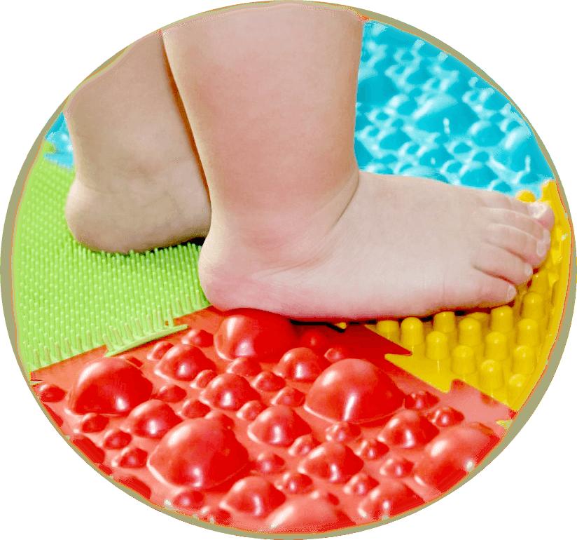 коврик детям для развития стоп