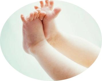 массаж стоп детям