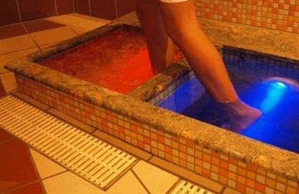 контрастная ванночка для ног