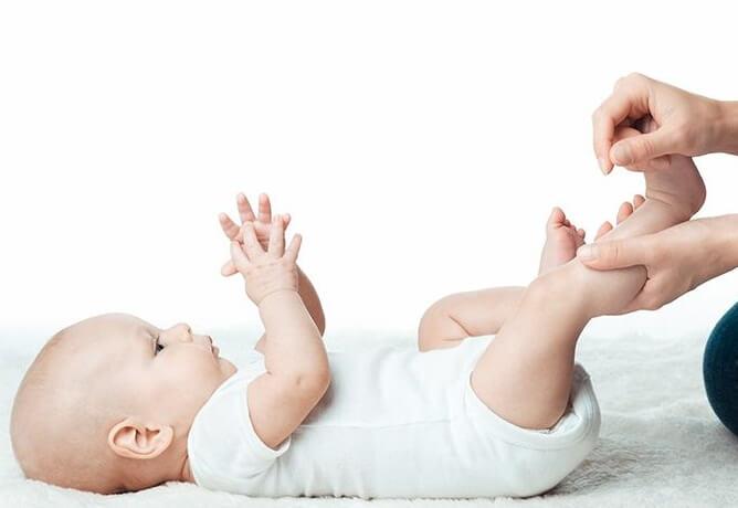 техника массажа стоп у детей