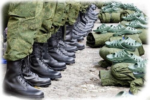 с плоскостопием в армии