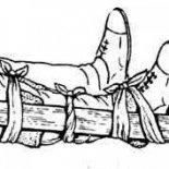 Правила наложения шины при переломе костей голени