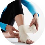 2 последствия ушибов голеностопнных суставов