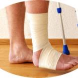 Когда можно наступать на ногу при переломе лодыжки без смещения?